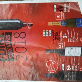 Auchan Wine Fair magazine