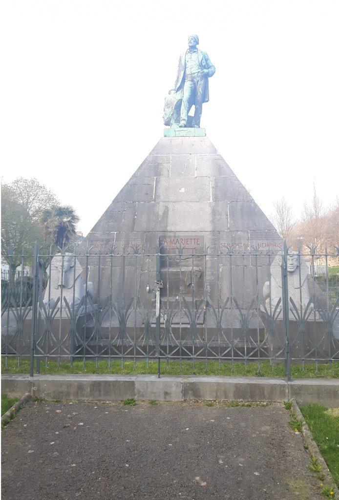 Auguste Mariette statue