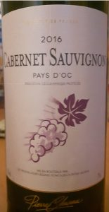 Cabernet Sauvignon, Auchan own brand.