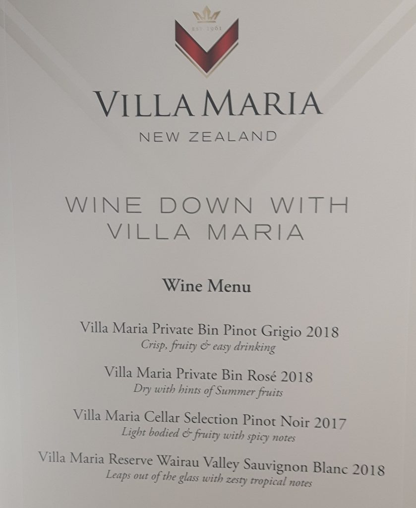 Wines from Villa Maria