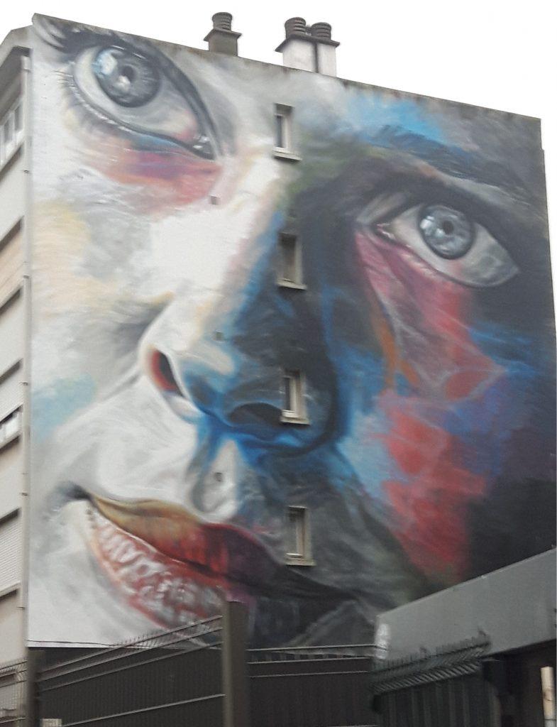 Boulogne wall mural