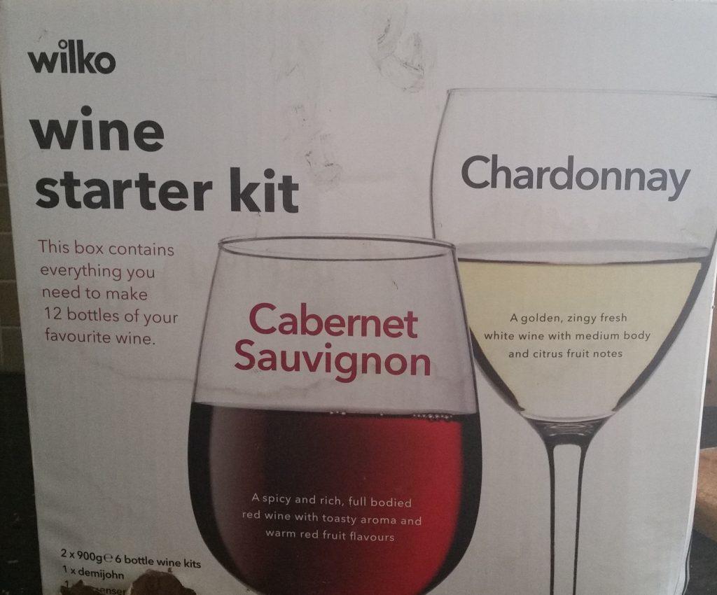 Wilkos wine kit