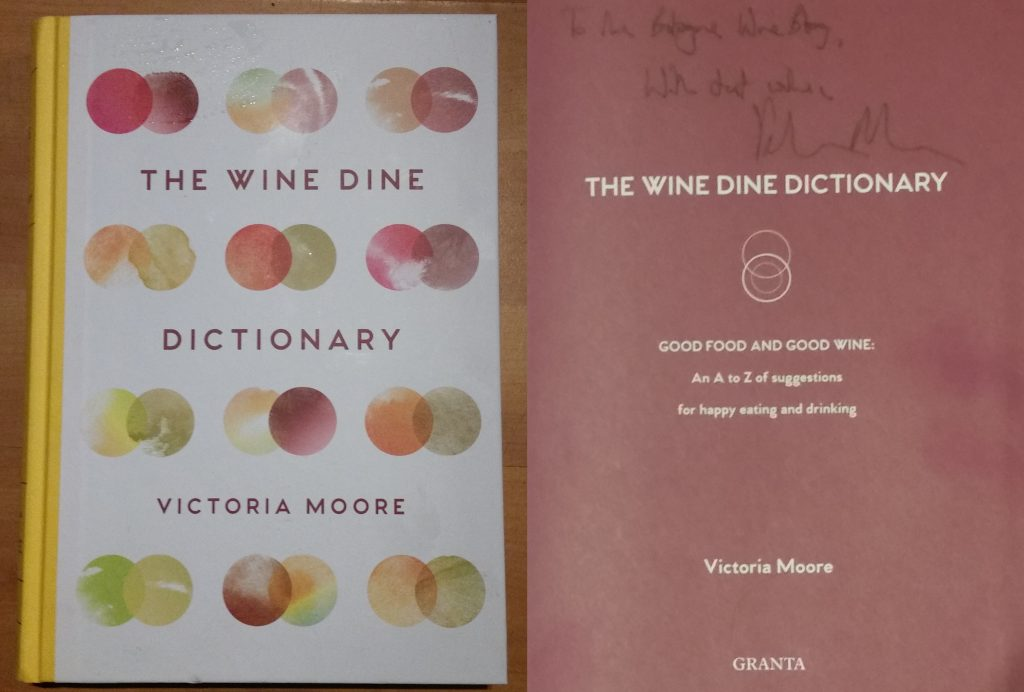 The Wine Dine Dictionary Victoria Moore