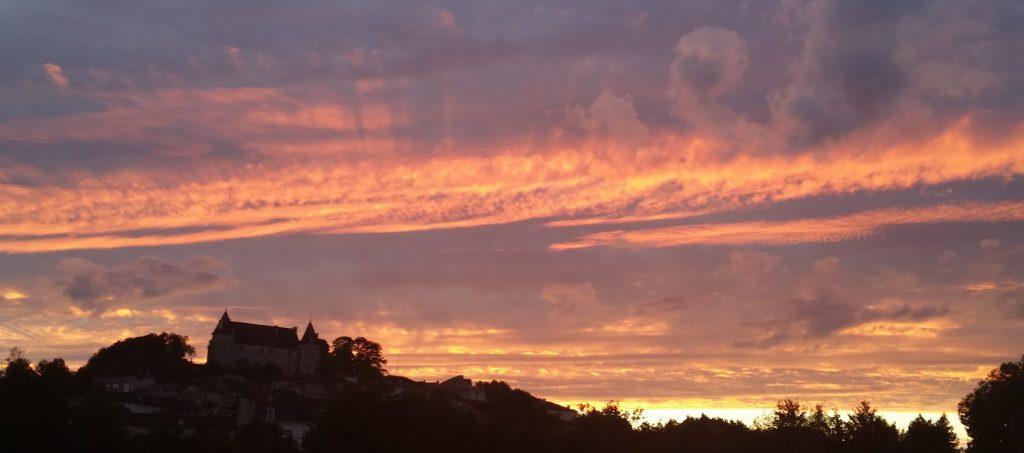 Montmoreau Sunset