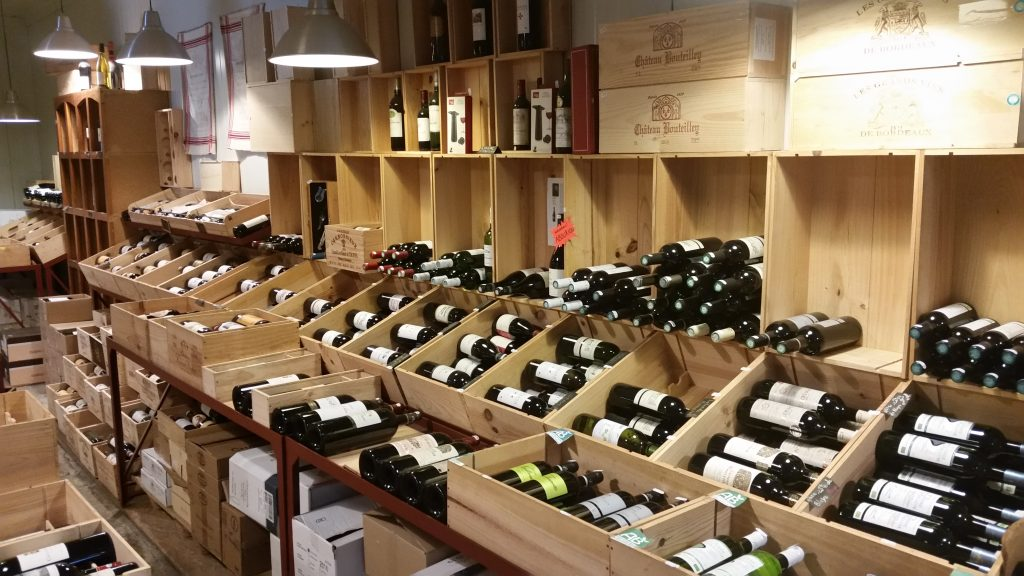 Wines at Le Cav'epicerie