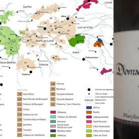 Touraine wine region and wines